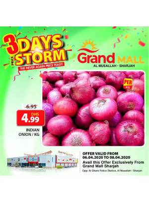 3 Days Storm - Grand Mall Sharjah