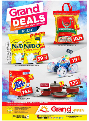 Grand Deals - Grand Hyper Al Khail Mall