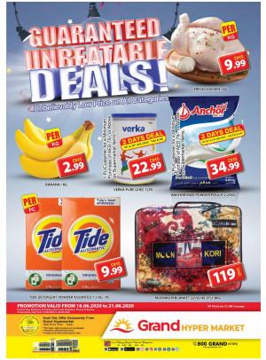 Guaranteed Unbeatable Deals - Grand Hypermarket Jebel Ali