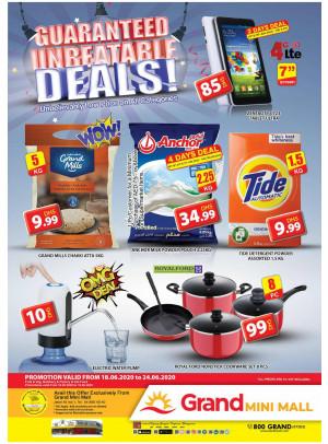 Guaranteed Unbeatable Deals - Grand Mini Mall
