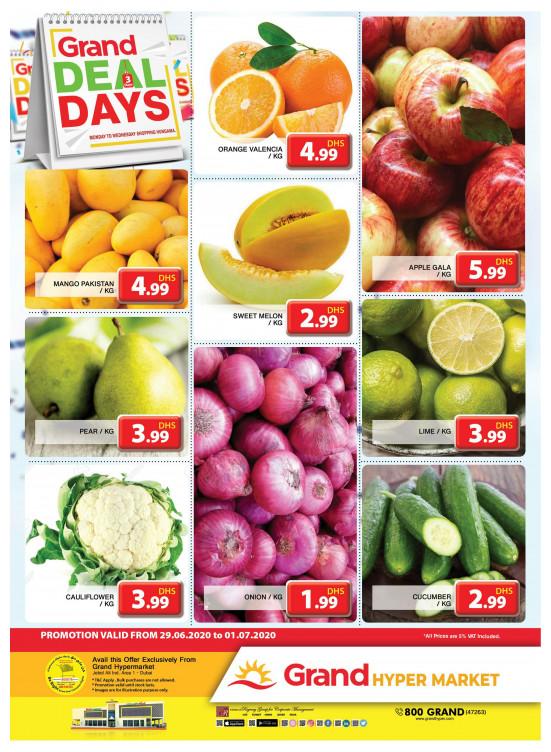 Grand Deal Days - Grand Hypermarket Jebel Ali