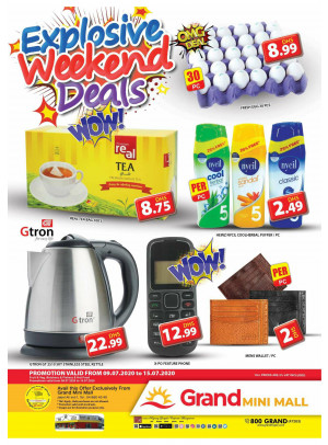 Explosive Weekend Deals - Grand Mini Mall