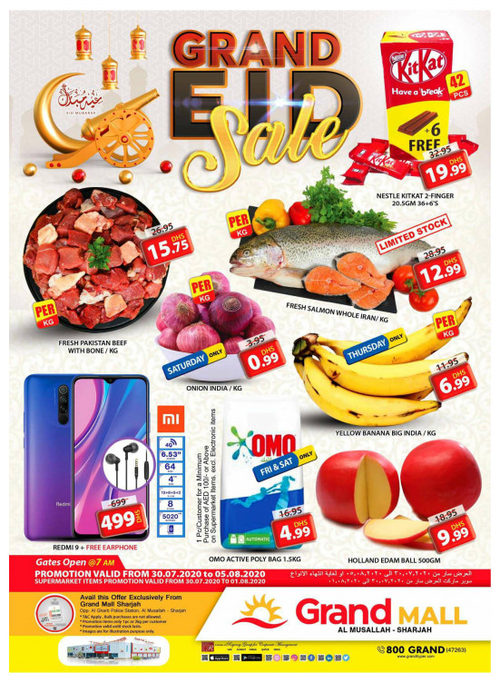 Grand Eid Sale - Grand Mall Sharjah