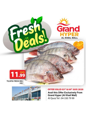 Fresh Deals - Grand Hyper Al Khail Mall