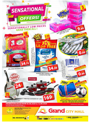 Sensational Offers - Grand City Mall