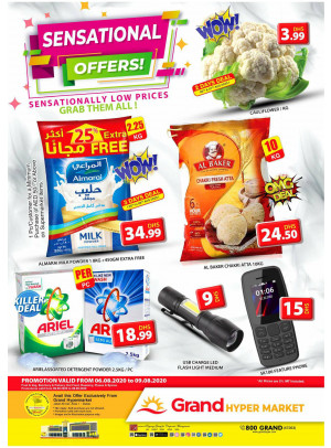 Sensational Offers - Grand Hypermarket Jebel Ali
