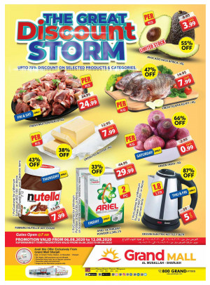 The Great Discount Storm - Grand Mall Sharjah