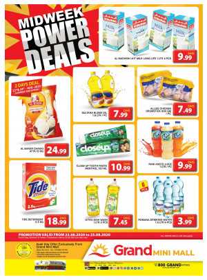 Midweek Power Deals - Grand Mini Mall