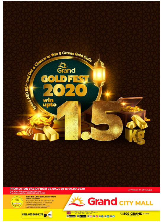 Gold Fest 2020 - Grand City Mall
