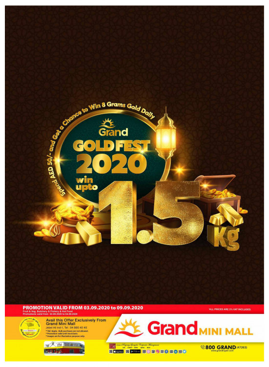 Gold Fest 2020 - Grand Mini Mall