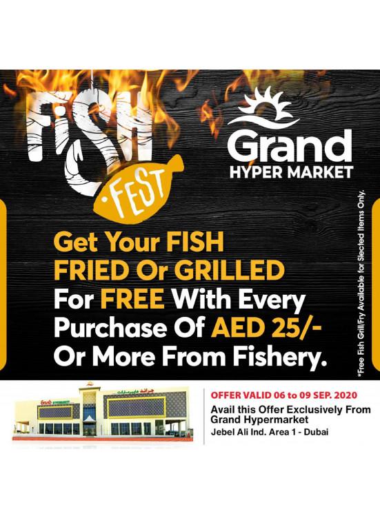 Fish Fest - Grand Hypermarket Jebel Ali