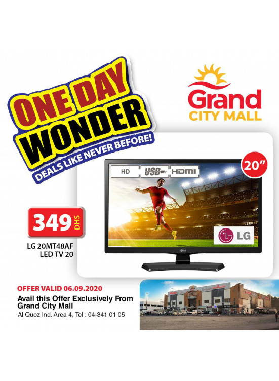 One Day Wonder - Grand City Mall