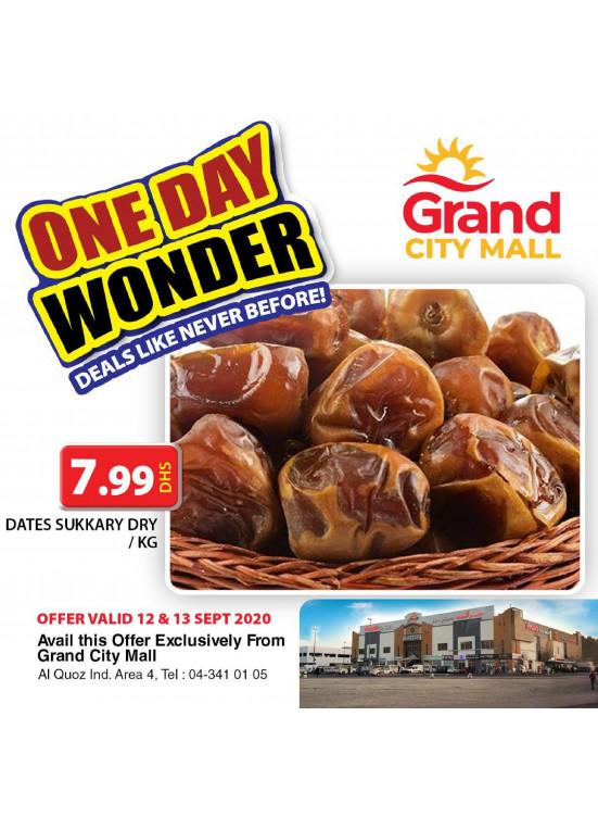 One Day Wonder - Grand City Mall