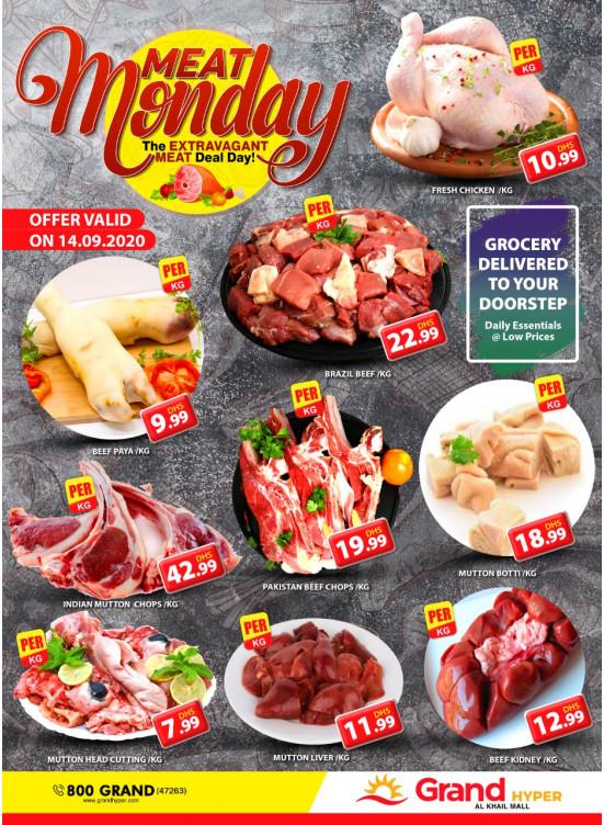Meat Monday - Grand Hyper Al Khail Mall