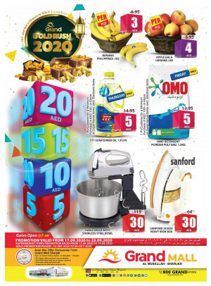Grand Gold Rush 2020 - Grand Mall Sharjah