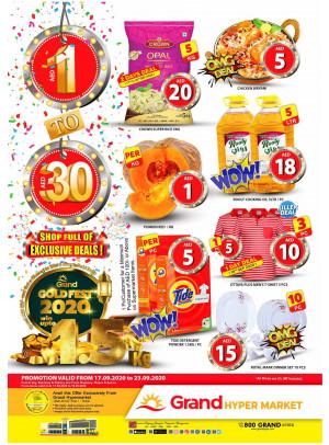 Gold Fest 2020 - Grand Hypermarket Jebel Ali