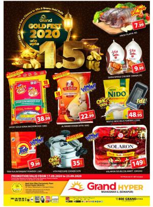 Gold Fest 2020 - Grand Hyper Muhaisnah