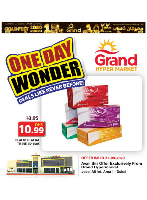 One Day Wonder - Grand Hypermarket Jebel Ali