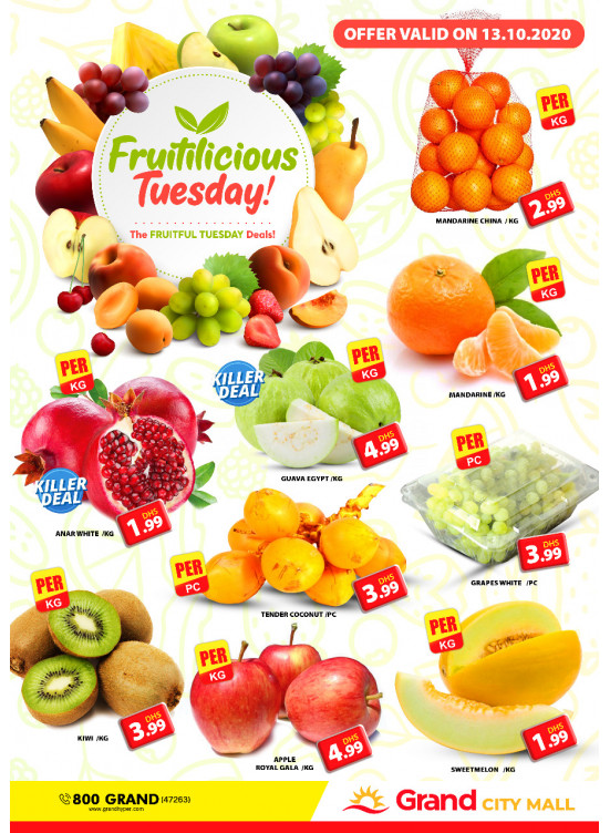 Fruitilicious Tuesday - Grand City Mall