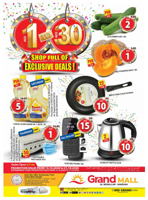 Shop Full Of Exclusive Deals - Grand Mall Sharjah