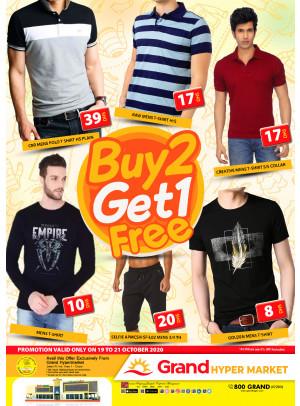 Buy 2 Get 1 Free - Grand Hypermarket Jebel Ali