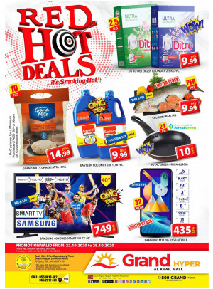 Red Hot Deals - Grand Hyper Al Khail Mall