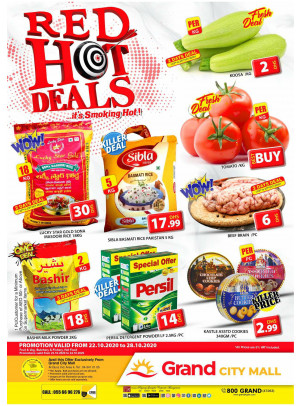 Red Hot Deals - Grand City Mall