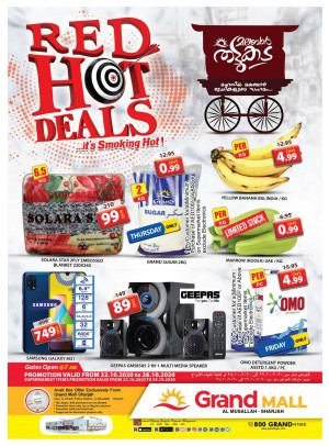 Red Hot Deals - Grand Mall Sharjah