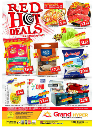 Red Hot Deals - Grand Hyper Muhaisnah