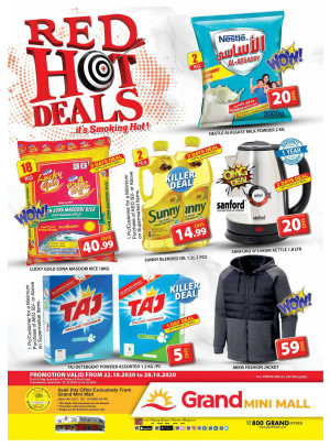 Red Hot Deals - Grand Mini Mall