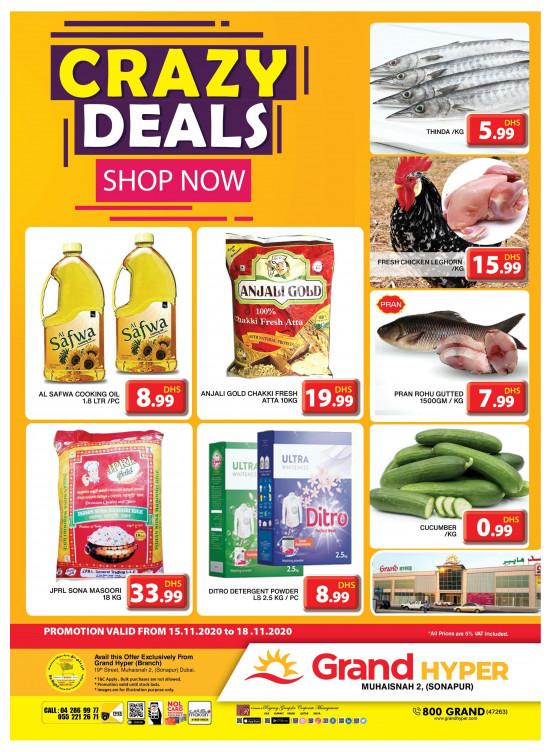 Crazy Deals - Grand Hyper Muhaisnah