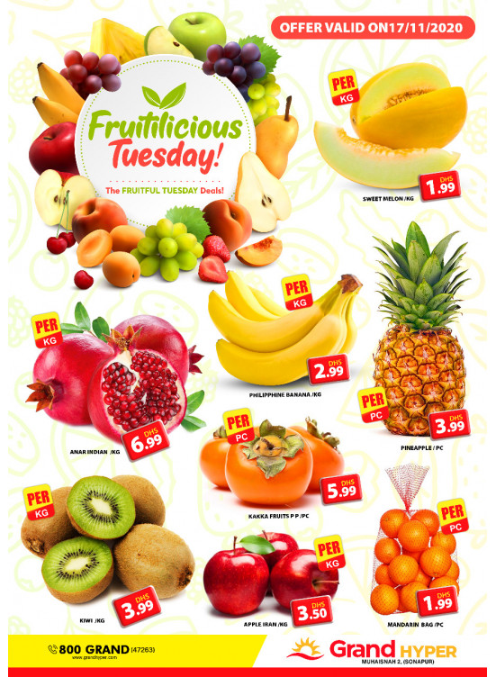 Fruitilicious Tuesday - Grand Hyper Muhaisnah