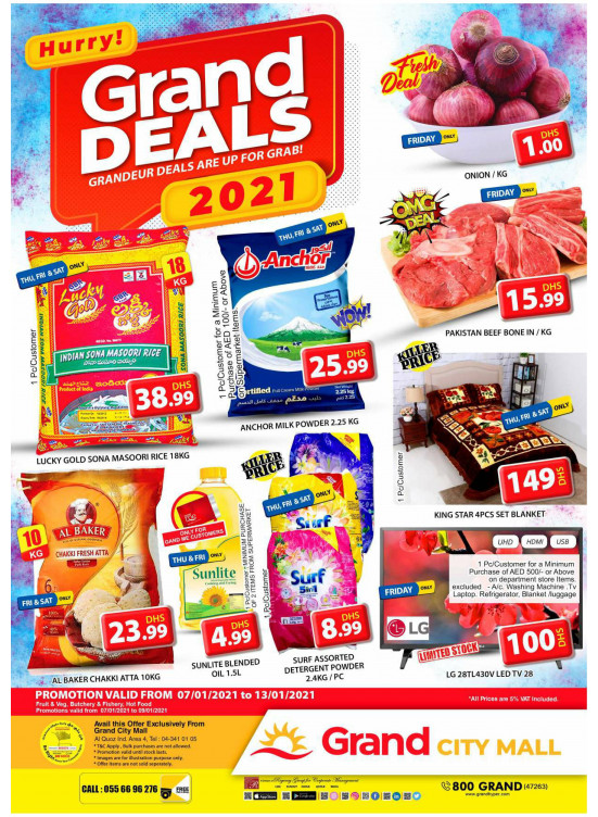 Grand Deals - Grand City Mall