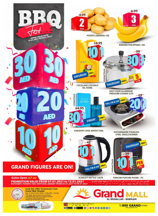 Grand Figures Are On - Grand Mall Sharjah