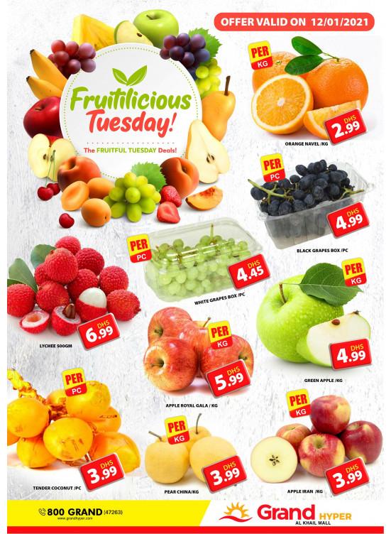 Fruitilicious Tuesday - Grand Hyper Al Khail Mall