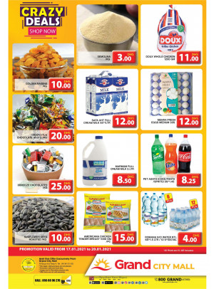 Crazy Deals - Grand City Mall