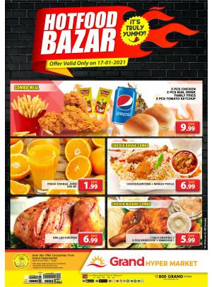 Hot Food Bazar - Grand Hypermarket Jebel Ali