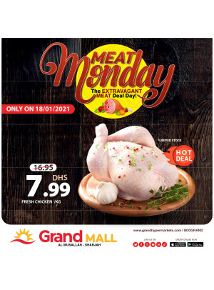 Meat Monday - Grand Mall Sharjah