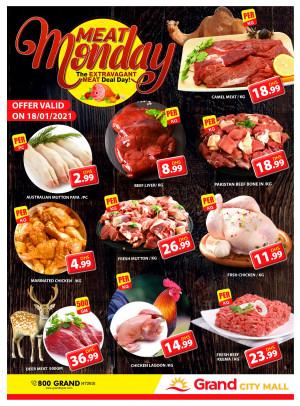 Meat Monday - Grand City Mall