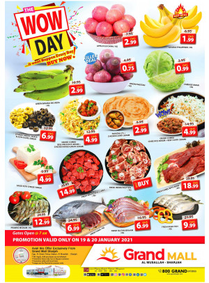 Wow Day Deals - Grand Mall Sharjah