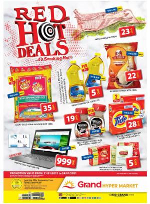 Red Hot Deals - Grand Hypermarket Jebel Ali
