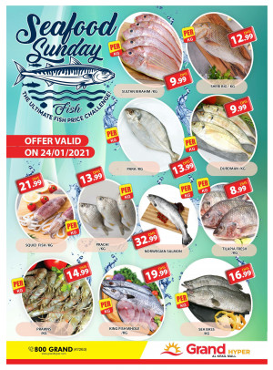 Seafood Sunday - Grand Hyper Al Khail Mall