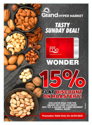 Tasty Sunday Deal - Grand Hypermarket Jebel Ali