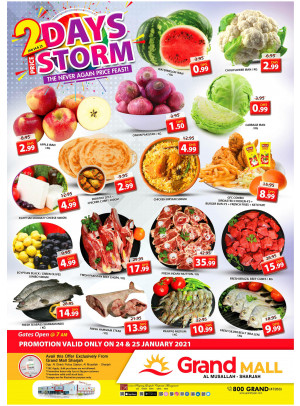 2 Days Price Storm - Grand Mall Sharjah