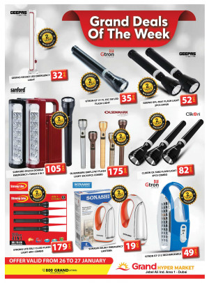 Grand Deals Of The Week - Grand Hypermarket Jebel Ali