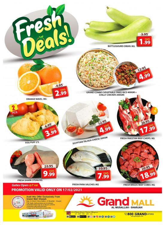 Fresh Deals - Grand Mall Sharjah