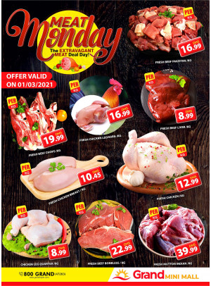 Meat Monday - Grand Mini Mall