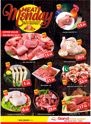 Meat Monday - Grand Hypermarket Jebel Ali