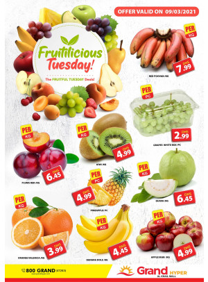 Fruitilicious Tuesday - Grand Hyper Al Khail Mall