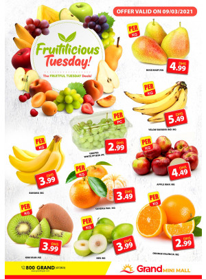 Fruitilicious Tuesday - Grand Mini Mall